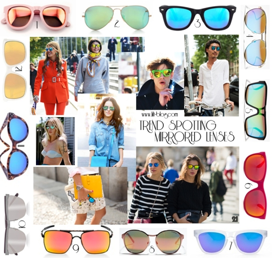 Trend Spotting Mirrored Sunglasses copy copy