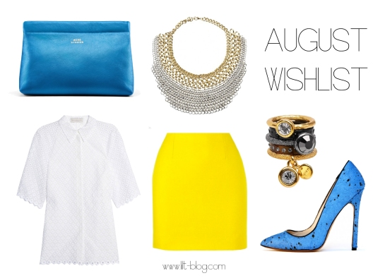 Lilt August Wishlist