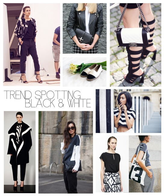 TREND SPOTTING BLACK AND WHITE