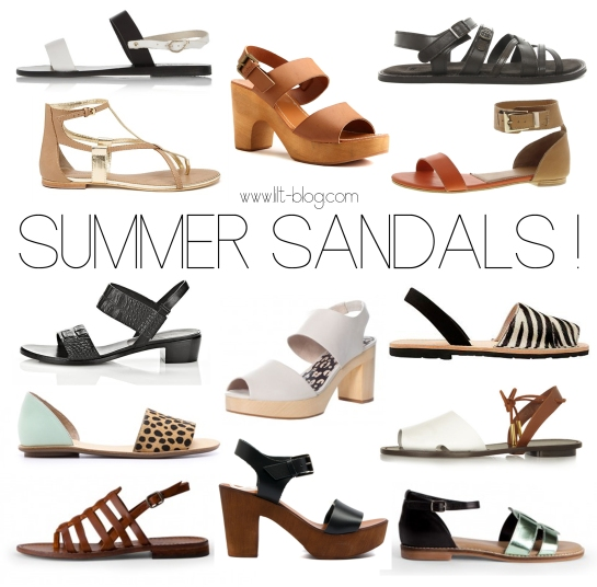 Lilt Blog Summer Sandals